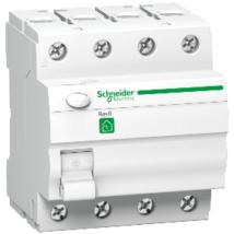 Schneider négypólusú áramvédő kapcsoló