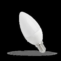 Led gyertya E14, 4W, Meleg fehér