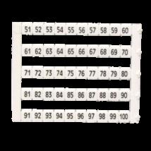 MT5-51-100 sorkapocs jelölő  51-100 ig