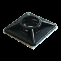 Kábelkötegelő Talp 19x19 Fekete