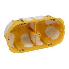 Gipszkarton doboz 2-es, gumimembrános