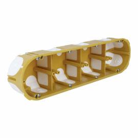 Gipszkarton doboz 4-es gumimembrános