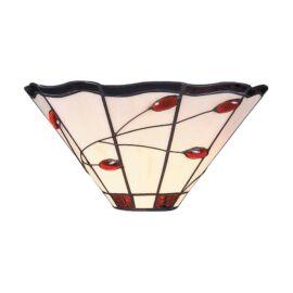 Tiffany oldalfali lámpatest