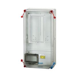 Fogyasztásmérő szekrény,  felületre szerelhető kivitel