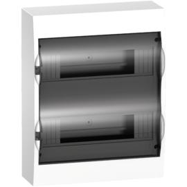 Lakáselosztó Fk. 2x12M füstszínű ajtóval