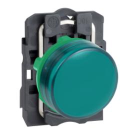 Harmony LED-ES Jelzőlámpa zöld  230V