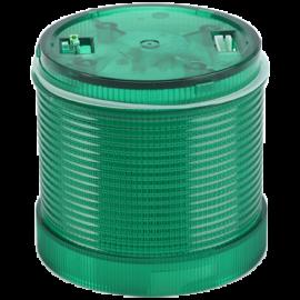 Fényjelző oszlopelem, zöld 24V AC/DC