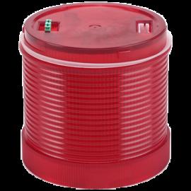 Fényjelző oszlopelem, piros 230V