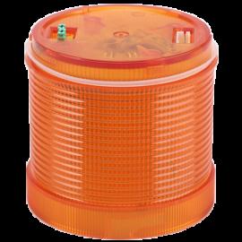 Fényjelző oszlopelem, sárga 24V AC/DC