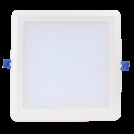Beépíthető Négyszögletes Led mélysugárzó 24W