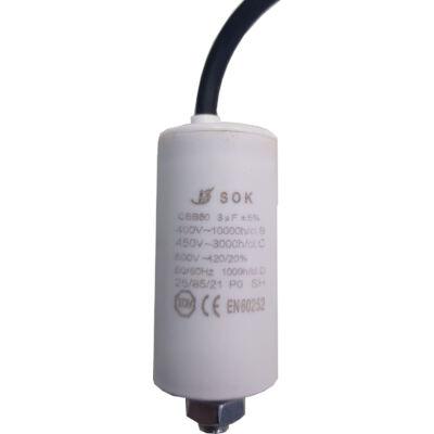 Kondenzátor   3,0mF Állandó üz. vezetéke