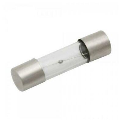 Üvegcsöves 6x30 lomha kioldású biztosítékok