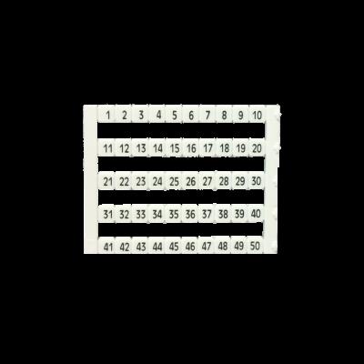 MT5-1-50 sorkapocs jelölő  1-50 ig