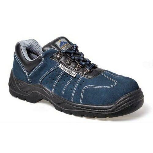 FW02 - Steelite szellőző kék félcipő S1P