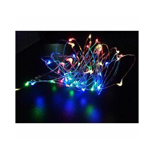 Fényfüzér 50Led-es színes
