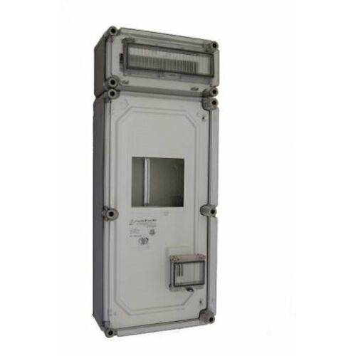 PVT fogy.mérő szekrény 3F, + elosztó