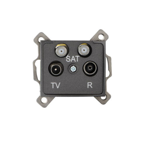 Antenna csatlakozó aljzat TV/R/SAT/SAT v