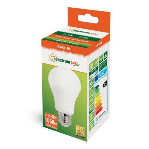 LED Gőmb E27, 11,5W
