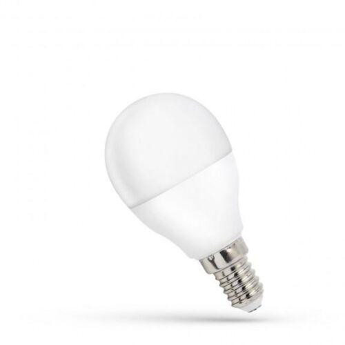 Led kisgömb E14, 8W, hideg fehér