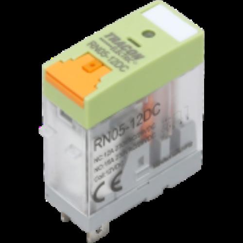 Print relé 24V AC 1 váltó érintkezővel