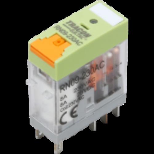 Print relé 24V AC 2 váltó érintkezővel