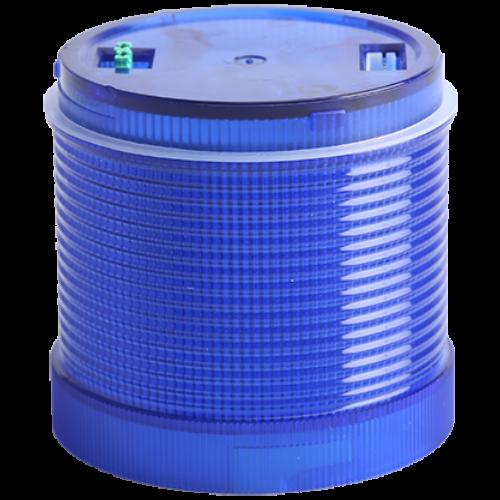 Fényjelző oszlopelem, kék 230V