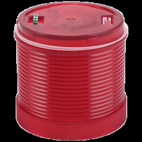 Fényjelző oszlopelem, piros 24V AC/DC