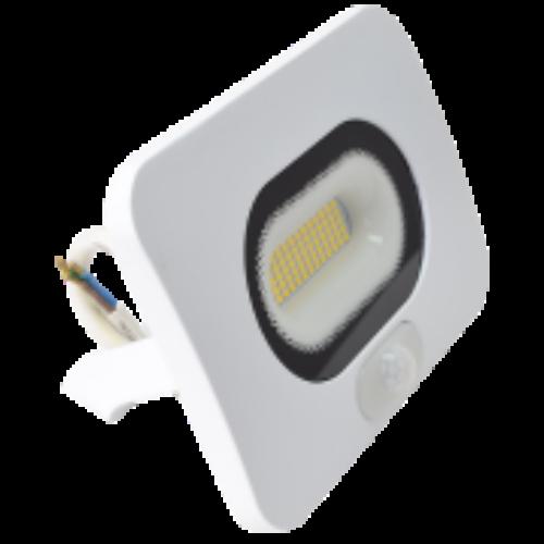 LED Fényvető mozgásérzékelővel, 2700lm, 30W fehér